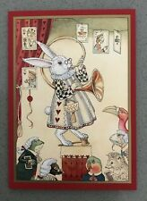 CHARLES VAN SANDWYK...ALICE IN WONDERLAND GREETING CARD....NEW!!!