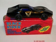 KNIGHT RIDER(KIT)BLACK RIDER(RARE)FRICTION POWER(MIB)1982-83 HONG KONG