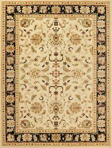 Floral Ivory Classic Oushak Turkish Oriental Area Rug Living Room Assorted 8x10