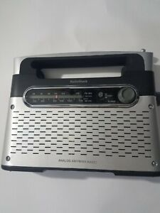 Radio Shack AM FM Weather Portable Radio No. # 1200889