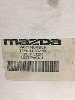 New Genuine Mazda Oil Filter & Sump Plug Washer 3 6 MPV MX5 Tribute LF1014302-99