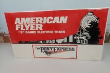 American Flyer S Gauge No.6-49600 The Pony Express Diesel Engine & Passenger Set