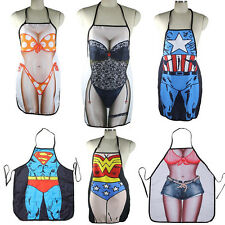 Funny Sexy Novelty Naked Woman Men home Kitchen Cooking BBQ Party Apron Gift 0ha