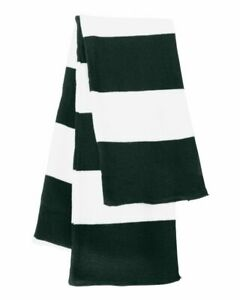 Rugby-Striped Knit Scarf, Scarfs and Wraps for Women, Scarfs for Men