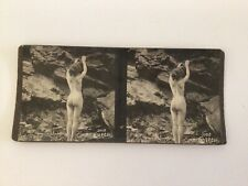 Stereoview albumen photo stereo card nude women original 1890s ART S.P.Co.