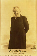 HENRIK IBSEN Signed Photograph - Author / Writer / Playwright - preprint