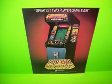 TradeWest IKARI WARRIORS Original Vintage Video Arcade Game Promo Ad Not A Flyer