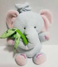 Toys Babies R Us Plush Elephant Hanging Musical Crib Pull Trunk Toy Blue Pink