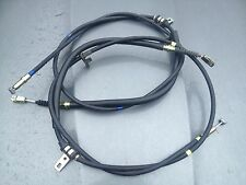 GENUINE MG ROVER MGTF TF HAND BRAKE CABLE SET (PAIR ) SPB000600 SPB000610