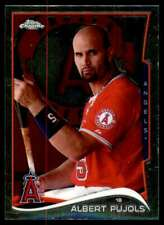 2014 Topps Chrome Albert Pujols Los Angeles Angels #130