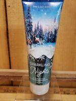 Bath & Body Works Sparkling Nights 24 Hour Moisture ULTRA SHEA Body Cream 8 oz