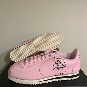 Nike Classic Cortez X Nathan Bell Pink Foam Sneakers BV8165-600 Size 10 B- GRADE
