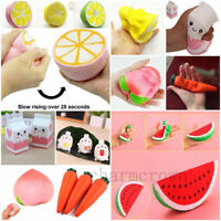 XMAS Gift Jumbo Slow Rising Squishies Scented Charms Kawaii Squishy Squeeze Toy