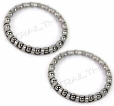 "2-Pack Aheadset 1-1/8"" Bike Headset Retainer Bearing fit 1"" & 1-1/8"" AHDBALLS022"