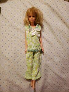 Vintage 60s Barbie Francie Doll Bendable Legs, Blonde, Brown Eyes