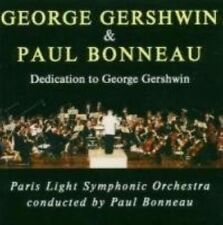 GEORGE GERSHWIN & PAUL BONNEAU: DEDICATION TO GEORGE GERSHWIN NEW CD