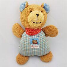 Sigikid oso Teddy caja musical peluche irse animal de peluche en azul marrón 26cm
