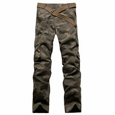 NEW MENS FOXJEANS CAMO CARGO PANTS SIZE 38