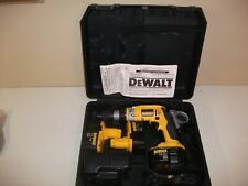 """DeWalt   DCD939  XRP  1/2""""  Cordless  Drill  w/3 extra batteries Charger & Case."""