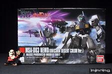 Bandai Gundam 1/144 High Grade HG UC MSA-003 Nemo (Unicorn Desert Color ver.)