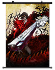 4747 Alucard Hellsing Decor Poster Wall Scroll cosplay