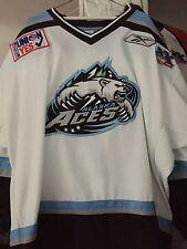 2007-08 Nhl Ahl Echl Alaska Aces Thomas Kana Game Worn Hockey Jersey