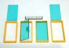Lego Glass Door & Windows 76035 Yellow 1 x 4 x 6 Frame Gas Station Shop
