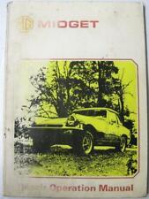 MG Midget Car Owners Workshop Manual 1975 #AKM 3327