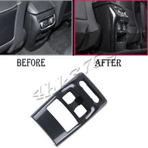 For Ford Explorer 2020-21 Carbon Fiber Rear Air Vent Outlet Moulding Cover Trim