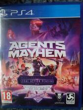 AGENTS OF MAYHEM PS4 Nuevo Gran Acción aventura Textos en castellano In english-