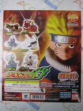 Naruto Real Collection Part 3 Gashapon Toy Machine Paper Card Bandai Japan