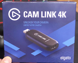 Elgato - Cam Link 4K - Black Fast Shipping