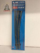 PECO SL E86 OO Track Code 100 Electrofrog Curved Right Hand Point