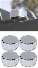 Hummer H2 & H2 SUT Smooth Chrome Billet Roof Rack Knobs, Set.