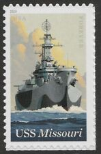 US 5392 USS Missouri forever single (1 stamp) MNH 2019