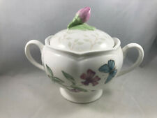 Lenox China, Butterfly Meadow, Double Handle Sugar Bowl