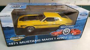1:18 Ertl 1971 Mustang Mach 1 429  L.E. 40th Anniversary