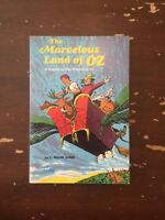1967 The Marvelous Land Of Oz by Frank Baum by Scholastic Book 1st Printing
