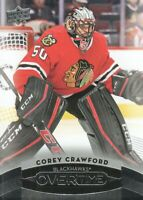 2015-16 Upper Deck Overtime Hockey #93 Corey Crawford Chicago Blackhawks