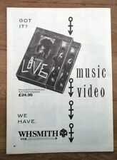 PRINCE 'Double Love' magazine ADVERT / Poster 11x8 inches