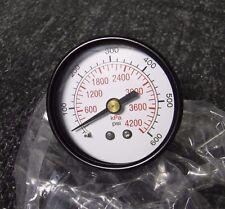 """New 2""""General Purpose Pressure Gauge 600psi/4000KPA 5WZ48 (M)"""