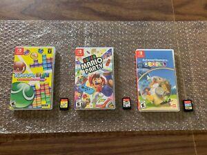 Super Mario Party + Katamari Damacy: Reroll + Puyo Puyo Tetris (Nintendo Switch)