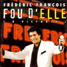 CD single Frederic FRANCOIS Fou d'elle Promo 1 Track card sleeve