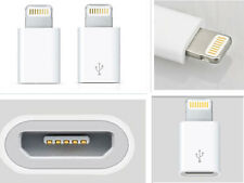 4pcs Mini 8 Pin to Micro USB Charger Converter Adapter For iPhone 5 5S 5C iPod
