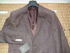 HUGO BOSS Men's No Pattern Cotton Regular Suits & Tailoring