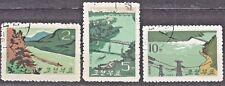 KOREA 1965 used SC#572/73 set,  Korean rivers.