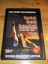 Tanz der Teufel DVD Evil Dead 1 Special Collector's Edition Sam Raimis FSK ab 18