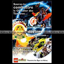 LEGO SYSTEM Espace Moyen Age Plongeurs.. 1997 Dépliant Pub Publicité / Ad #A1002