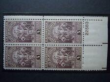 1940 #897 3c Wyoming Statehood  Plate Block MNH OG F/VF