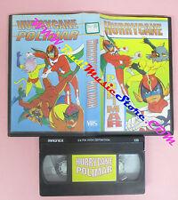 VHS film HURRYCANE POLIMAR animazione (F28) no dvd